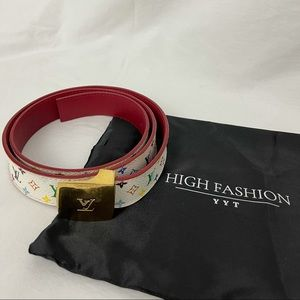 Louis Vuitton Multicolour belt